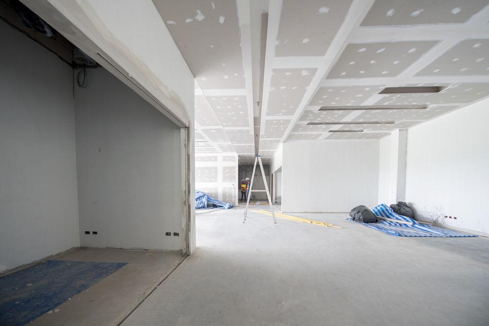 Agencement - Plafond et cloison plaque de plâtre