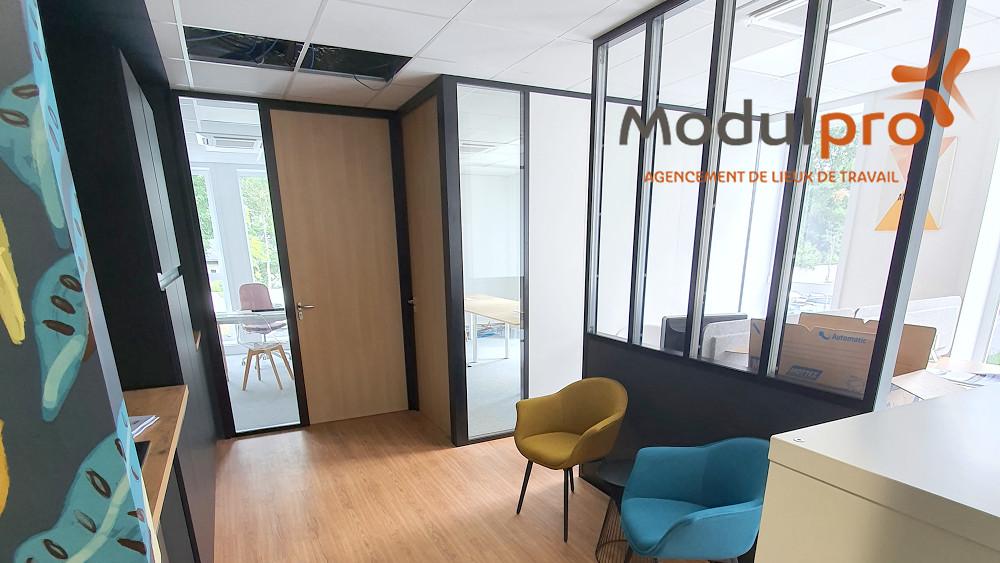 Agencement bureau Nantes - ModulPro