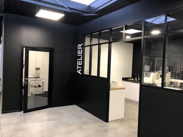 Agencement - cloison modulaire type atelier 2