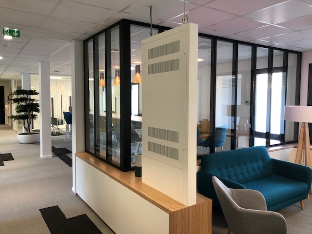 Agencement Nantes - cloisons modulaires